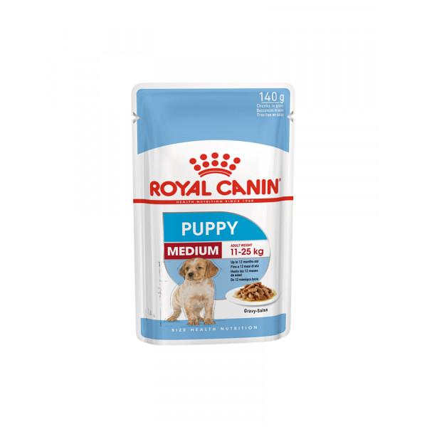 Royal Canin Medium Puppy (в соусі) фото