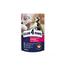 Клуб 4 лапи Premium для цуценят всіх порід з куркою в желе фото