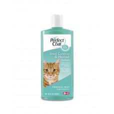 8in1 Шампунь проти линьки і волосяних грудок для кішок фото