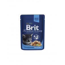 Brit Premium Cat Chicken & Chunks for Kitten фото