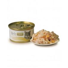 Brit Care Cat Куриная грудка и сыр, 80 гр фото