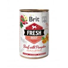 Brit Fresh Beef with Pumpkin фото