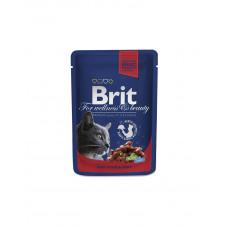 Brit Premium Cat Beef Stew & Peas фото