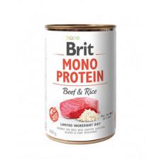 Brit Mono Protein Dog з яловичиною та рисом фото
