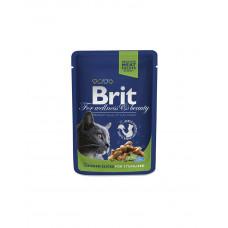 Brit Premium Cat Chicken Slices for Sterilised фото