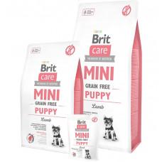 Brit Care Grain-free Mini Puppy Lamb фото