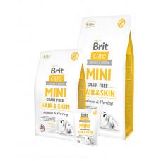 Brit Care GF Mini Hair&Skin (д/собак малых пород)  здоровая кожа и шерсть фото