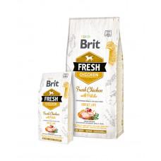 Brit Fresh Chicken with Potato Adult  фото