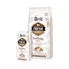 Brit Fresh Turkey with Pea Light Fit & Slim Adult фото