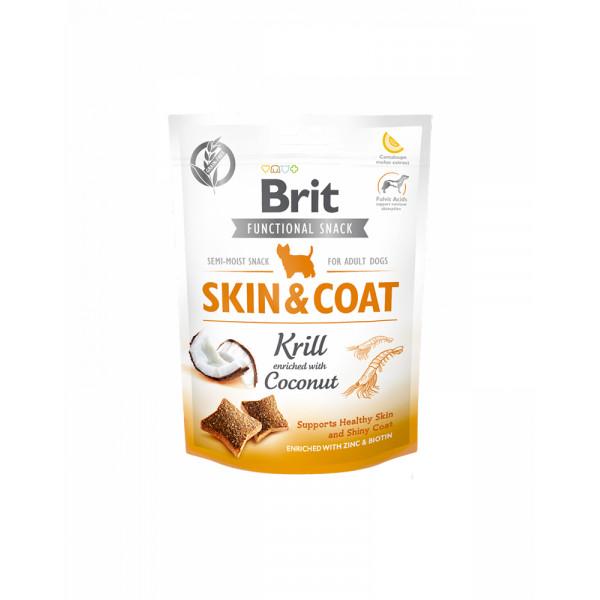 Brit Care Skin & Coat Для поддержания здоровья кожи и шерсти у собак с кокосом и крилем фото