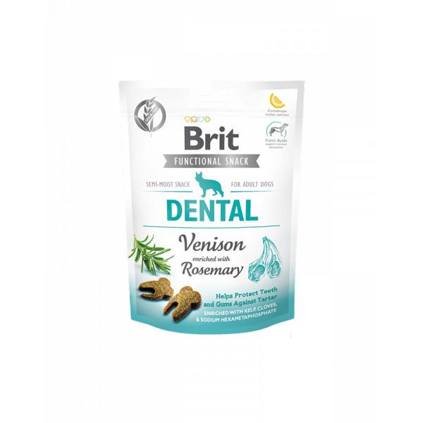 Brit Care Dental Для підтримки здоров'я зубів у собак з олениною і розмарином фото