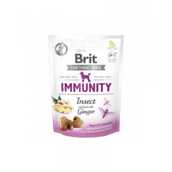 Brit Care Immunity Для поддержания иммунитета у собак с насекомыми и имбирем фото