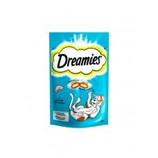 Dreamies Salmon Подушечки для кошек с лососем фото