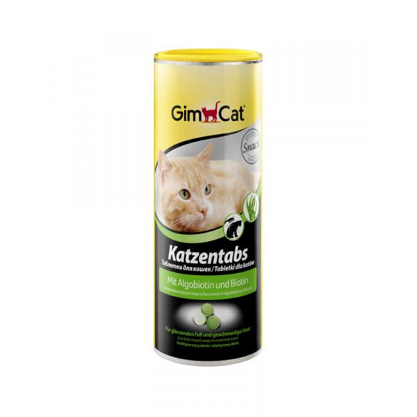 GimCat Katzentabs Витаминизированные лакомства для кошек, с алгобиотином фото