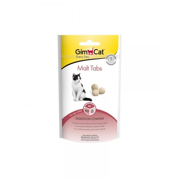 GimCat Таблетки Every Day Malt Tabs для виведення шерсті зі шлунка кішок фото