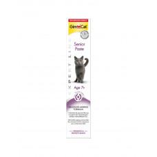 GimCat Паста Expert Line Senior витаминизированная паста для поддержания здоровья кошек старше 7 лет фото