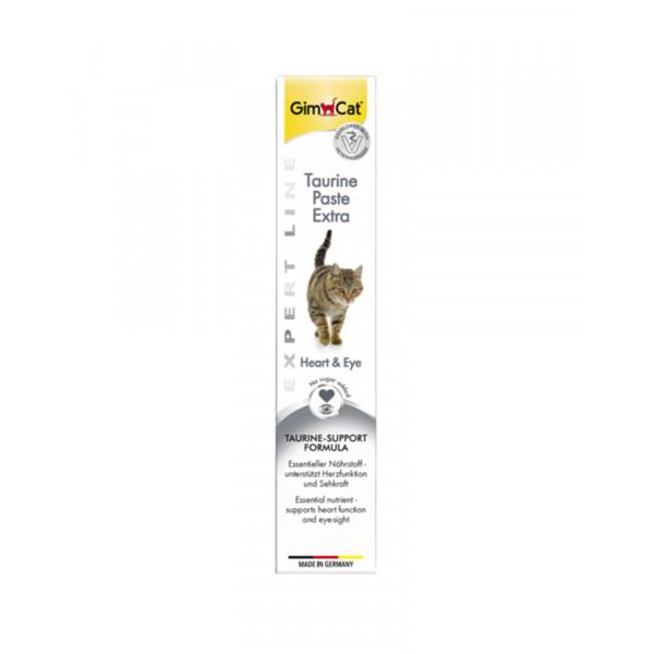 GimCat Паста Expert Line Taurine Extra витаминизированная паста с таурином для кошек фото