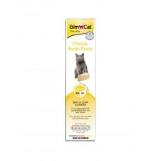 GimCat Паста Cheese-Biotin витаминизированная паста для кожи и шерсти кошек фото