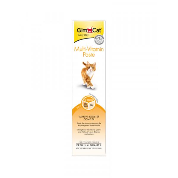 GimCat Паста Multi-Vitamin Paste витаминизированная паста для кошек фото