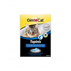 GimCat Topinis с форелью Для улучшения обмена веществ, микрофлоры кишечника кошек фото