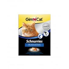 GimCat Лакомые сердечки с лососем фото