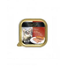 Edel Cat Для взрослых котов паштет с зайцем и печенью фото