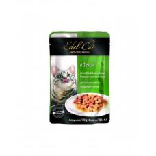 Edel Cat Ніжні шматочки в соусі з індичкою і качкою фото