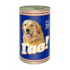 Гав Для собак с кроликом в аппетитном соусе фото