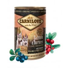 Carnilove Salmon & Turkey Puppies фото