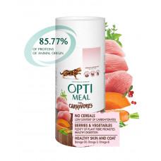 OptiMeal Беззерновой корм для взрослых кошек - индейка и овощи фото