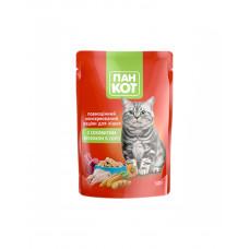 Пан Кот Для взрослых котов с кроликом в соусе фото