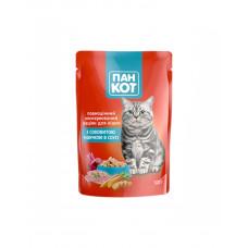 Пан Кот Для взрослых котов с индейкой в соусе фото