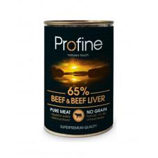 Profine Beef & Beef liver Для дорослих собак всіх порід з яловичиною і яловичої печінкою фото
