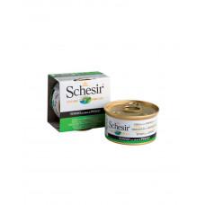 Schesir Cat Tuna & Chicken Для дорослих кішок з тунцем і курячим філе в желе, 85 гр фото