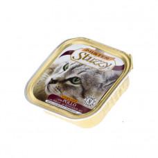 Mister Stuzzy Cat Sterilized Chicken Паштет для стерилизованных и кастрированных кошек с курицей, 100 гр фото