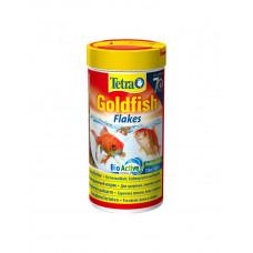 Tetra Goldfish в хлопья фото