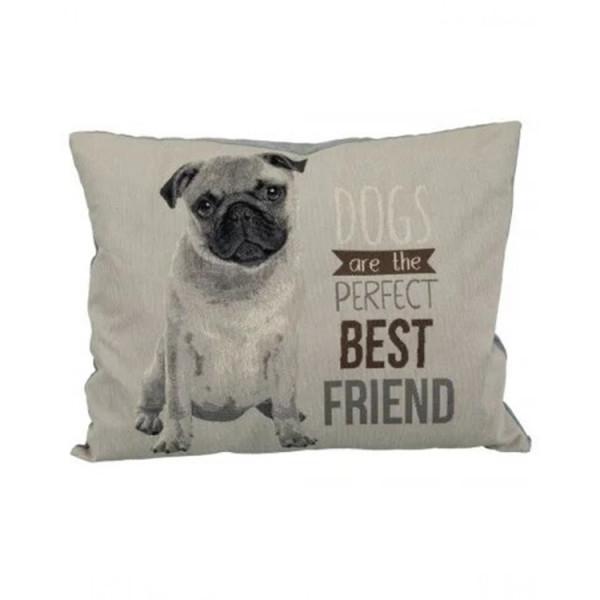 """Trixie Лежак """"Chipo"""" з мопсом, для собак і кішок фото"""