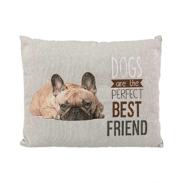 """Trixie Лежак """"Chipo"""" з французьким бульдогом, для собак і кішок фото"""