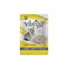 Vibrisse Jelly Kittens Для кошенят з куркою в желе фото