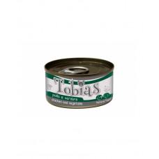 Tobias Для дорослих собак з куркою і овочами, 170 гр фото