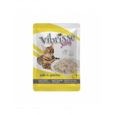 Vibrisse Jelly Для взрослых кошек с курицей в желе фото