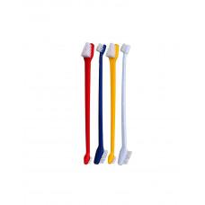 Trixie Набор двухсторонних зубных щеток( 4 шт. в упаковке) фото