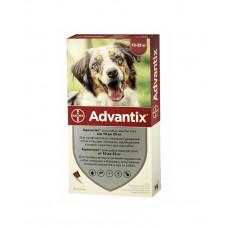 Bayer Advantix краплі від бліх і кліщів д/соб. 10-25 кг. фото