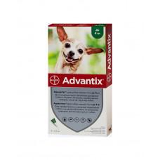 Bayer Advantix краплі від бліх і кліщів д/соб. до 4 кг. фото