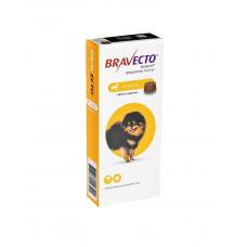 Bravecto (Бравекто) д./соб. (2-4.5кг) таблетки від бліх і кліщів фото