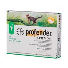 Profender краплі від гельмінтів для кішок (0.5-2.5 кг) фото