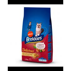 Brekkies Excel Cat Delice Meat фото