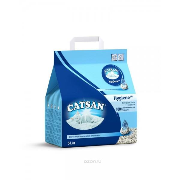 CATSAN Hygiene plus впитывающий фото
