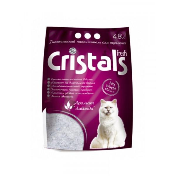 Cristals Fresh Cиликагелевый наполнитель для кошачьего туалета фото