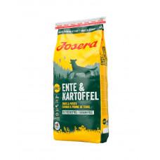 Josera Ente & Kartoffel корм беззерновой для собак з качкою і картоплею фото